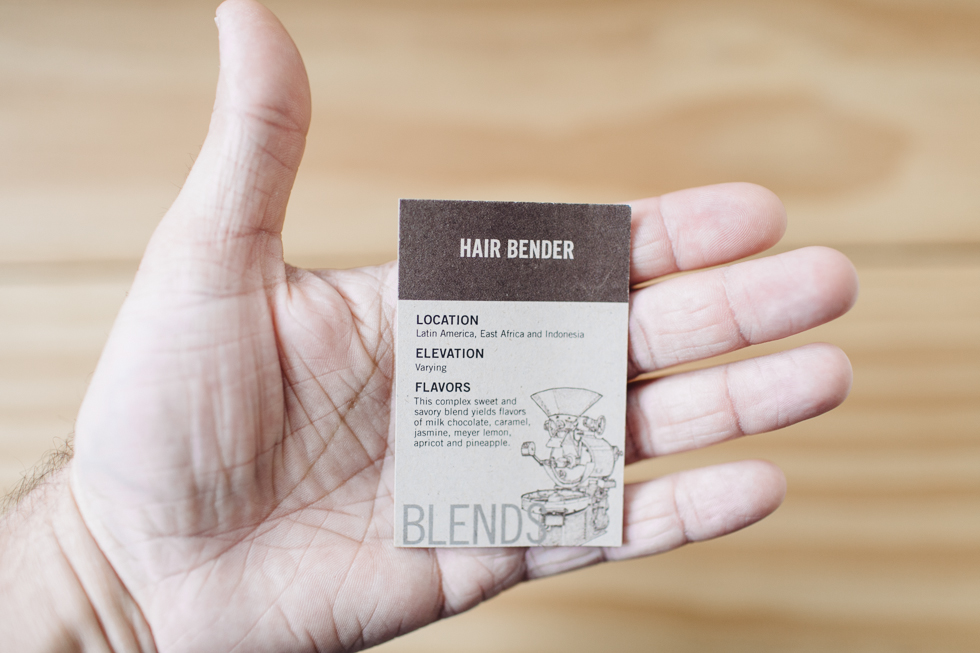 Stumptown Coffee Roasters Hair Bender Blend | Beautiful Packaging | Pequenas Doses | Small Doses| 28 | Frankie e Marília