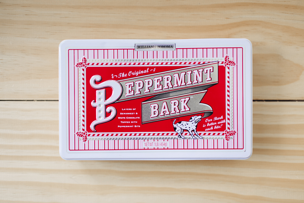 Delicious Williams-Sonoma Peppermint Bark | Christmas Typography Inspiration | Pequenas Doses | Small Doses | 28 | Frankie e Marília