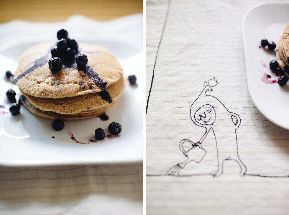 Easy whole wheat pancake recipe | Frankie & Marilia
