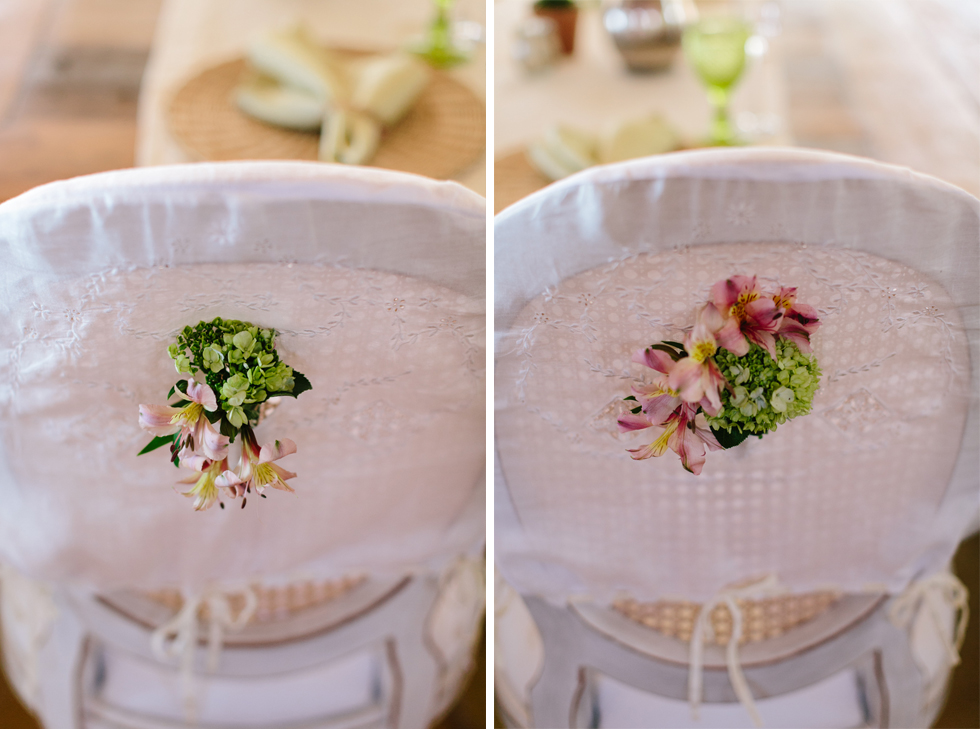 His and Hers Chairs | Brazilian Island Detail-filled Wedding | Frankie e Marilia