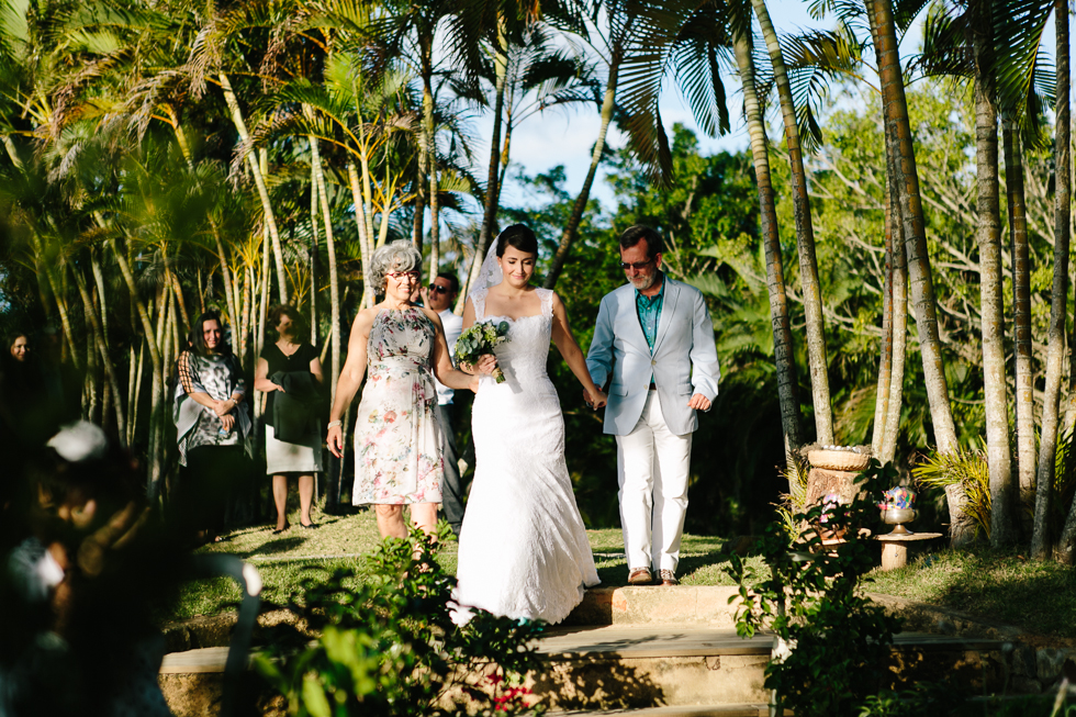 Brazilian Island Detail-filled Wedding | Frankie e Marilia