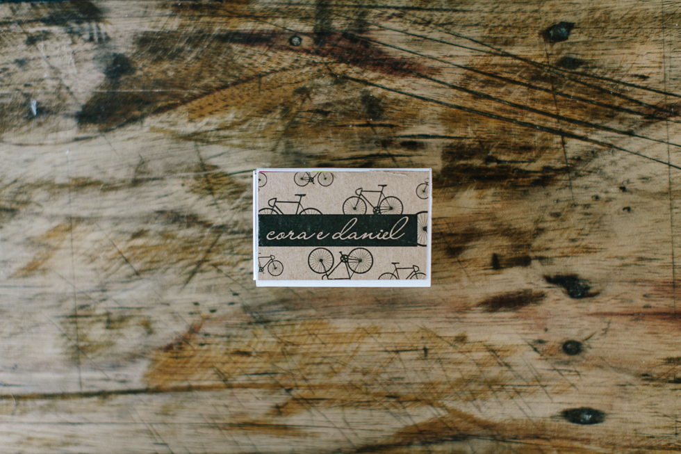 Customized Matchbox for sparklers | Don't forget your matches | Brazilian Island Detail-filled Wedding | Frankie e Marilia