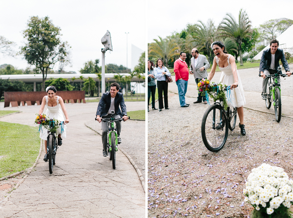 Colorful Bike Wedding in a Park with a Picnic | Bicicletas no Casamento no parque com um Picnic | Photos by: Frankie e Marilia (33)