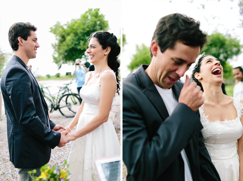 Colorful Bike Wedding in a Park with a Picnic | Bicicletas no Casamento com um Picnic | Photos by: Frankie e Marilia