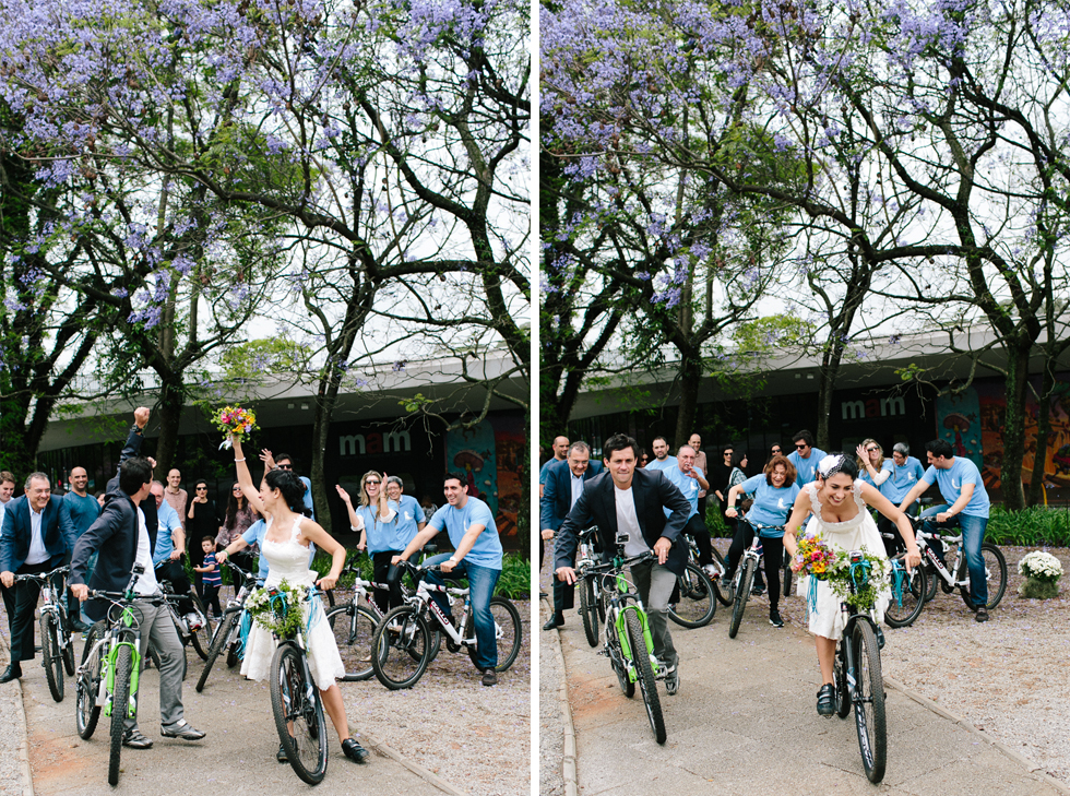 Colorful Bike Wedding in a Park with a Picnic | Bicicletas no Casamento no parque com um Picnic | Photos by: Frankie e Marilia (42)
