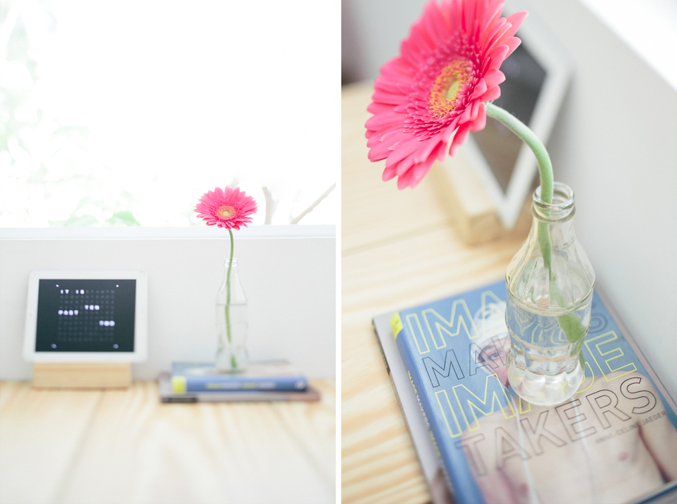 Clean office decor | Frankie e Marilia