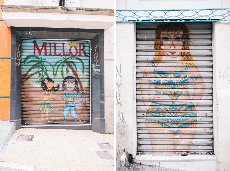 Brazilian Steel Door Art