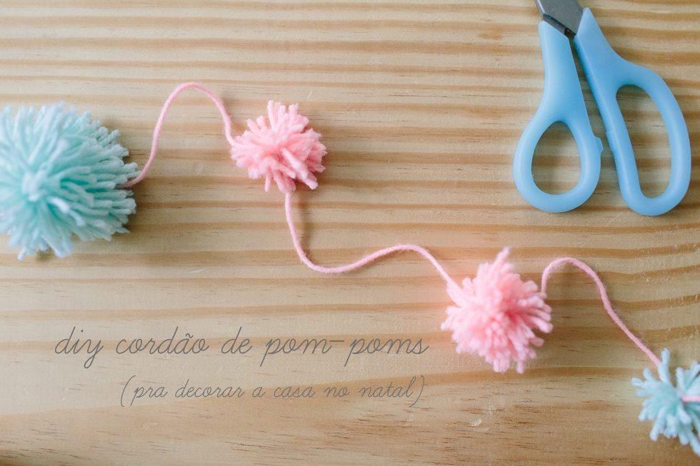 a8d4f4007b655 easy and pretty DIY pom-pom garland