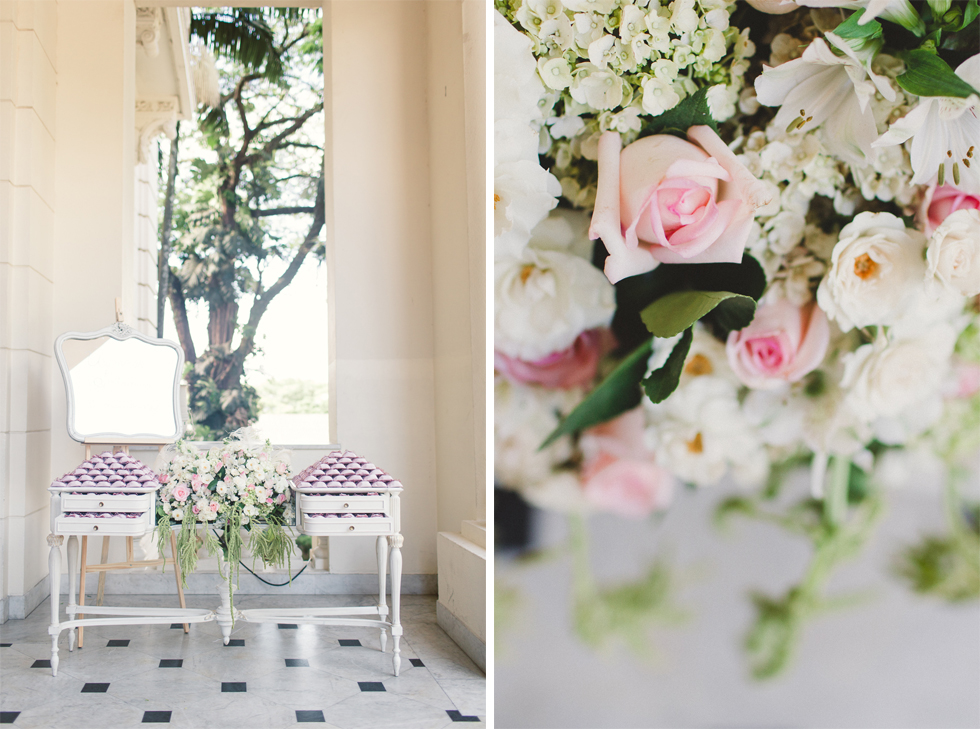 Beautiful and delicate Marie Antoinette inspired wedding | Photos by Frankie & Marilia (22)