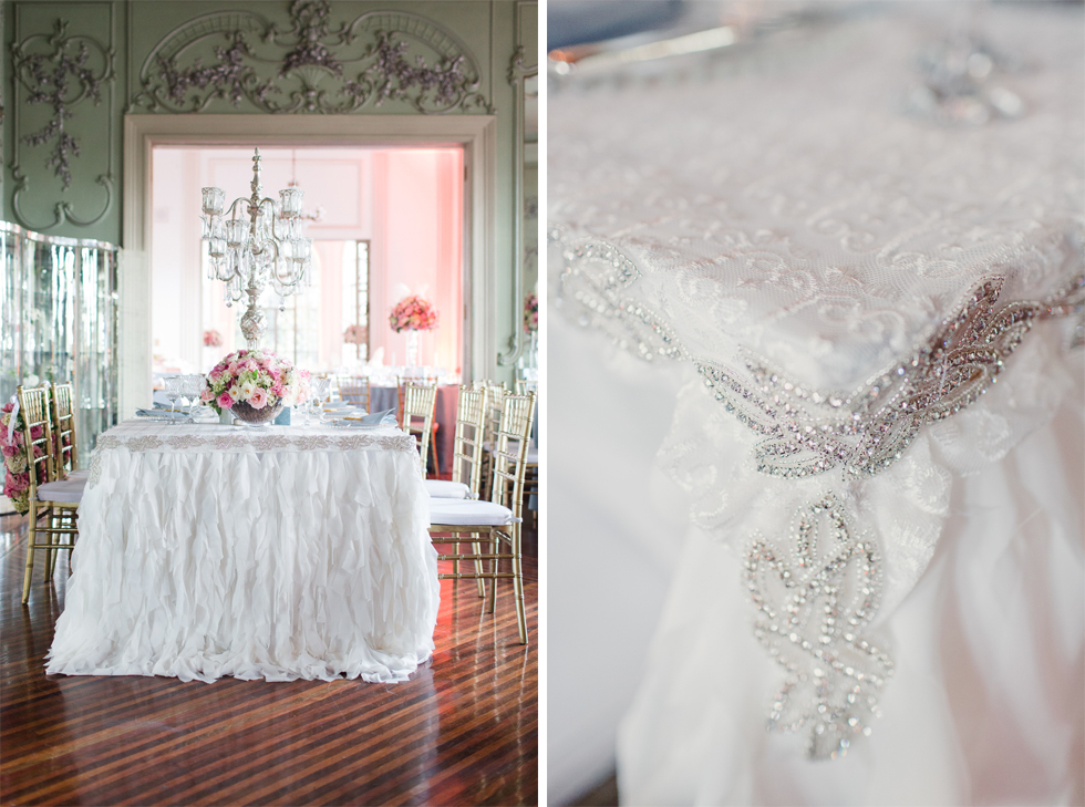 Beautiful and delicate Marie Antoinette inspired wedding | Photos by Frankie & Marilia (26)