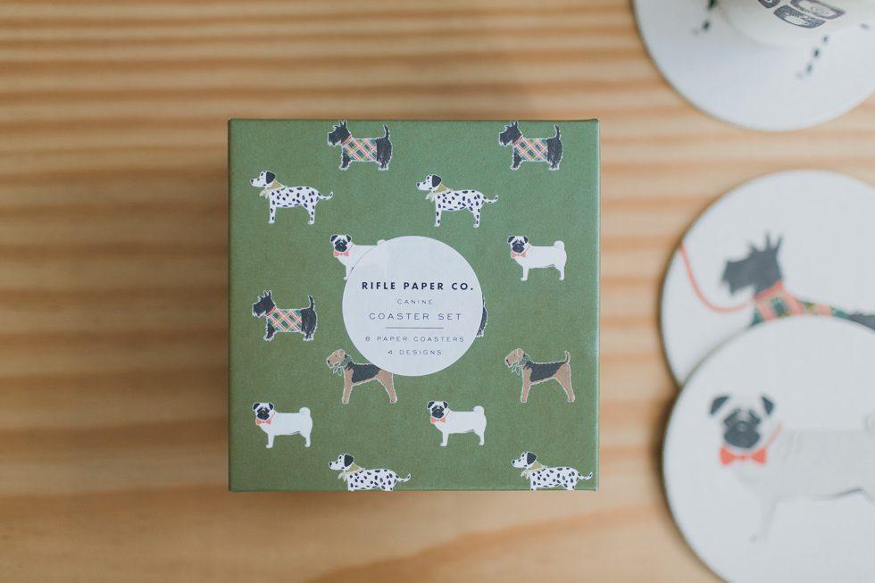 Rifle Paper Co. Canine Coasters | Frankie e Marilia