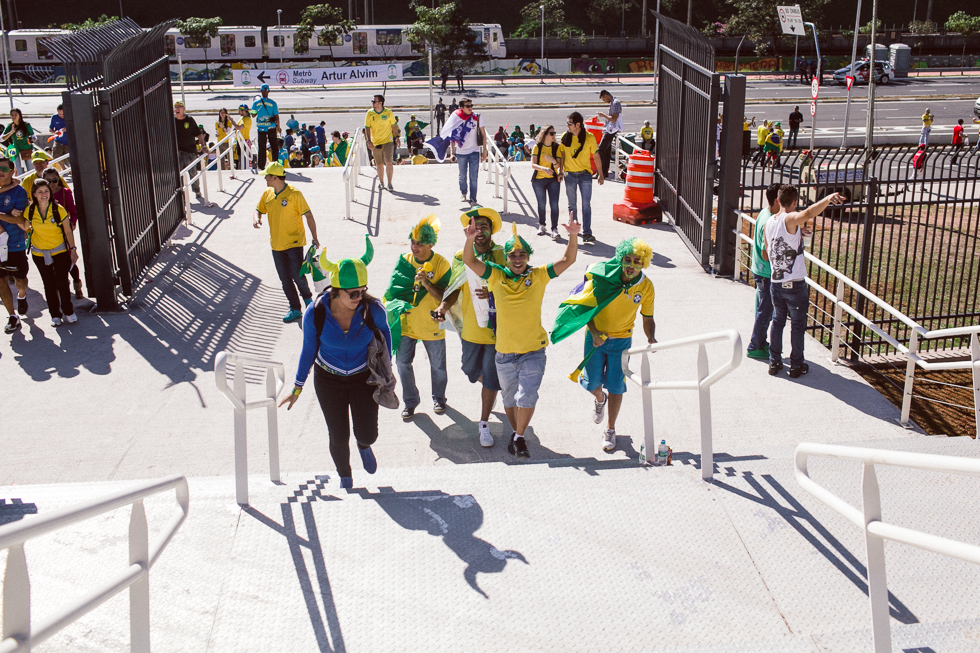 2014 Brazil World Cup Opening Game Photos | Frankie e Marilia (10)