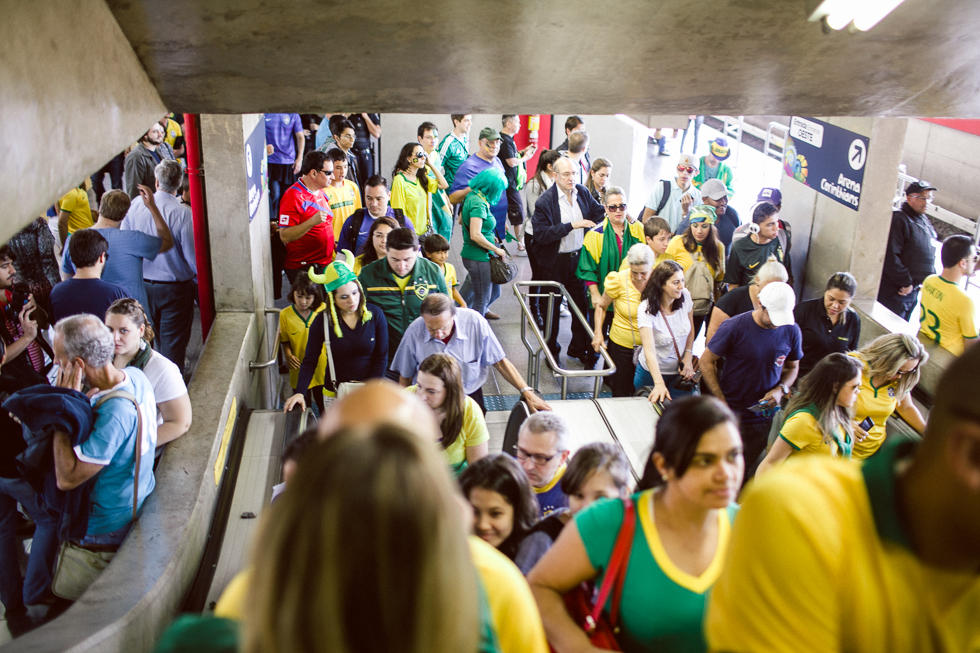 2014 Brazil World Cup Opening Game Photos | Frankie e Marilia (3)