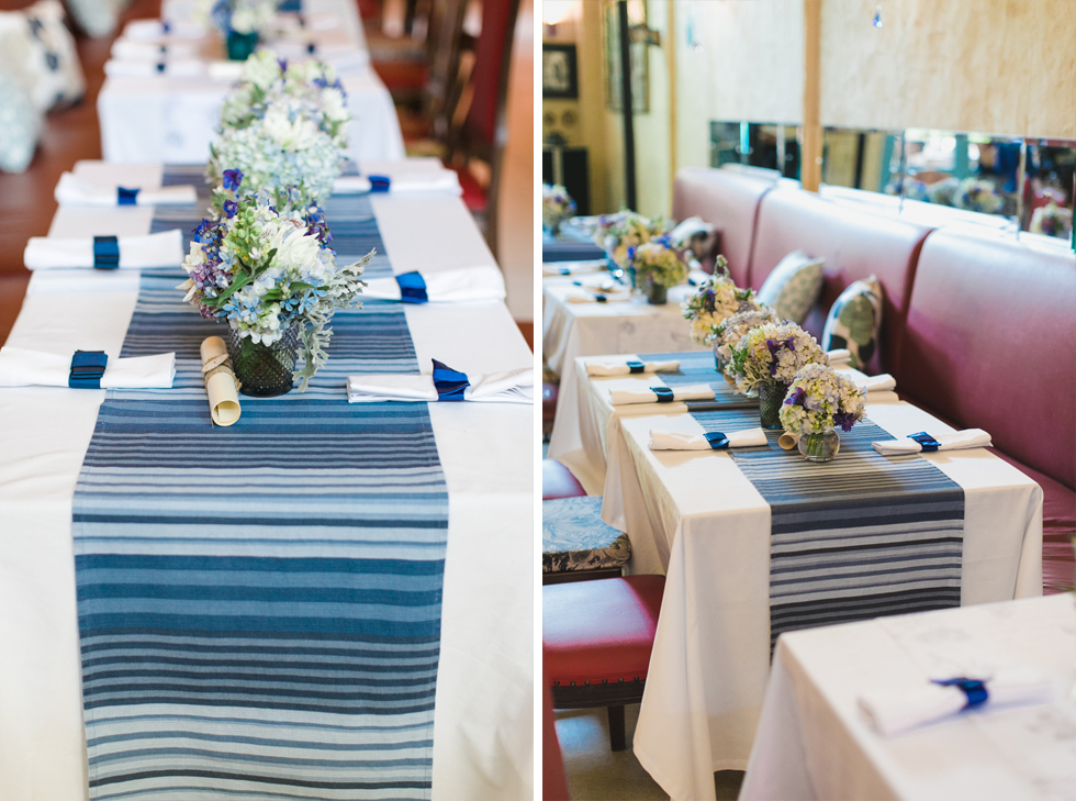 Oh my, what a charming bistro wedding with two charming grooms and their cute dogs (Photos by Frankie & Marilia) (21)