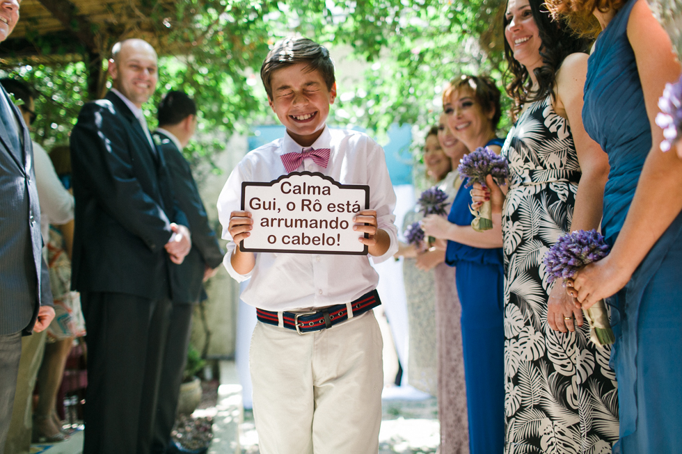 Oh my, what a charming bistro wedding with two charming grooms and their cute dogs (Photos by Frankie & Marilia) (27)