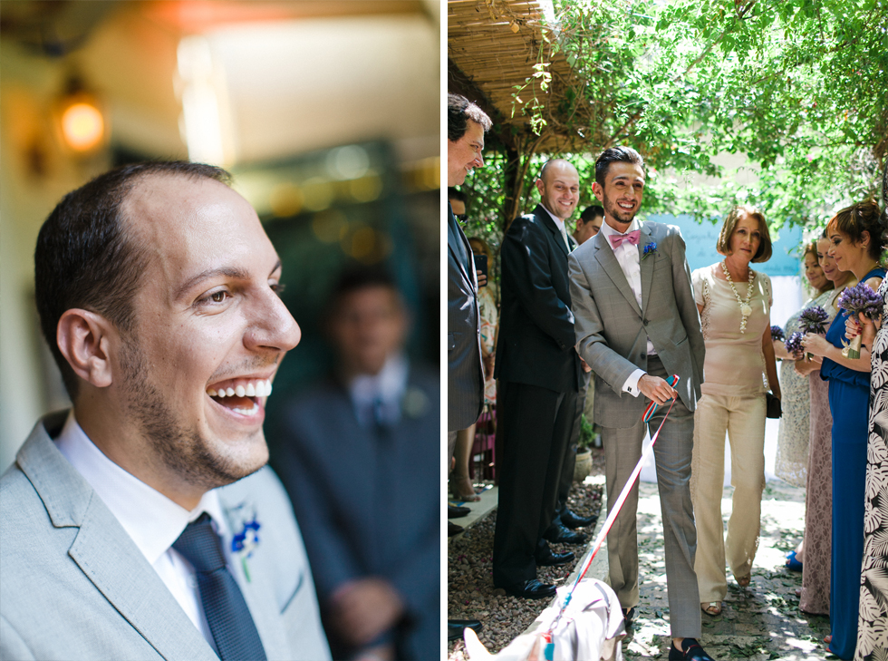 Oh my, what a charming bistro wedding with two charming grooms and their cute dogs (Photos by Frankie & Marilia) (29)