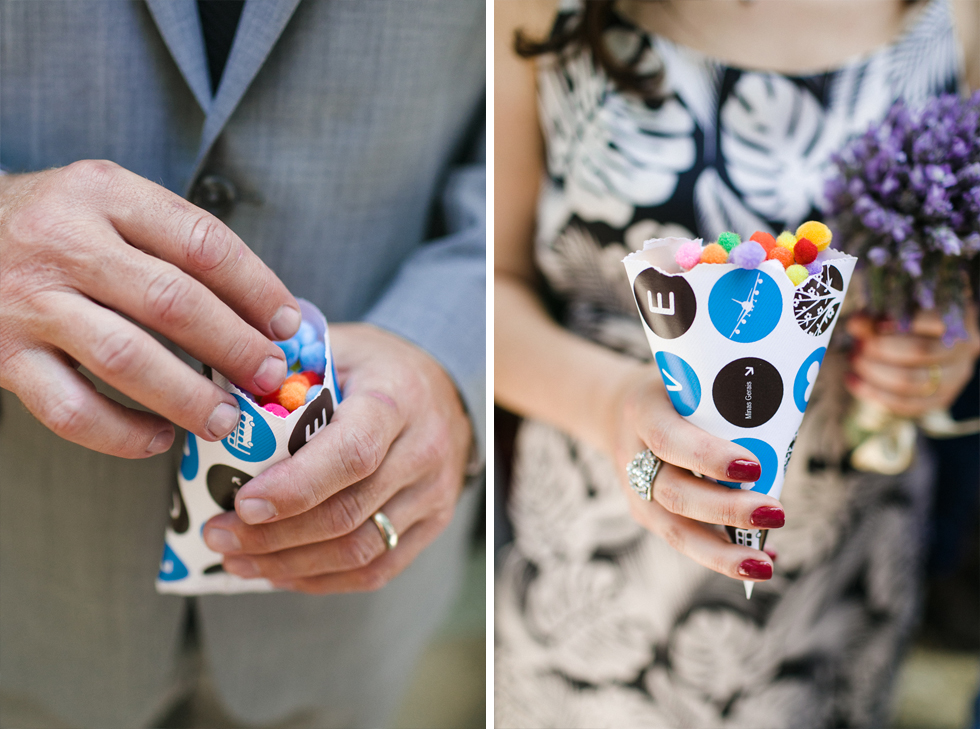 Oh my, what a charming bistro wedding with two charming grooms and their cute dogs (Photos by Frankie & Marilia) (44)