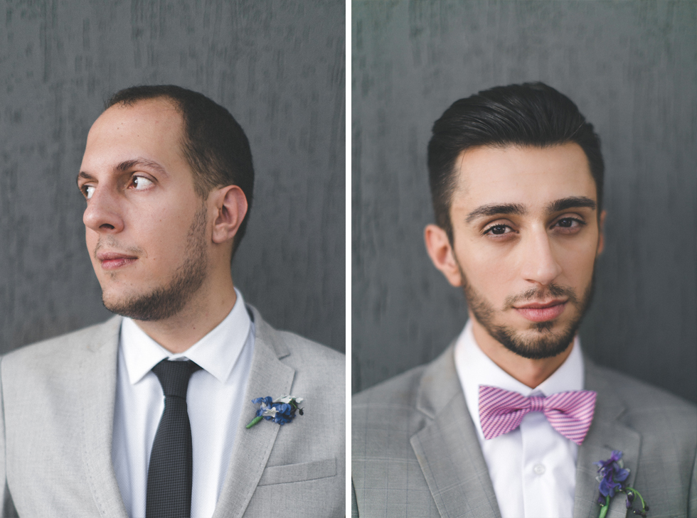 Oh my, what a charming bistro wedding with two charming grooms and their cute dogs (Photos by Frankie & Marilia) (50)
