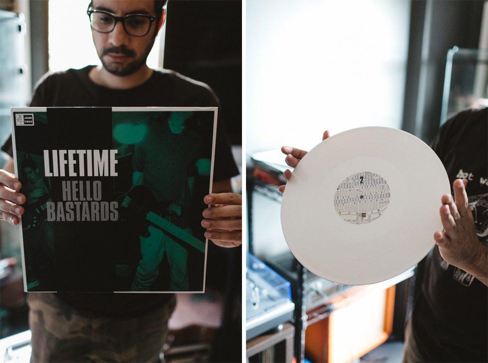 Hardcore Punk Vinyl Collection - Lifetime - Hello Bastards | How's your edge