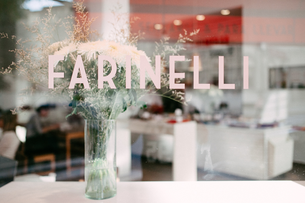 Farinelli | Beautifully modern lunch/coffee spot in Recoleta | Buenos Aires Guide | Frankie e Marília