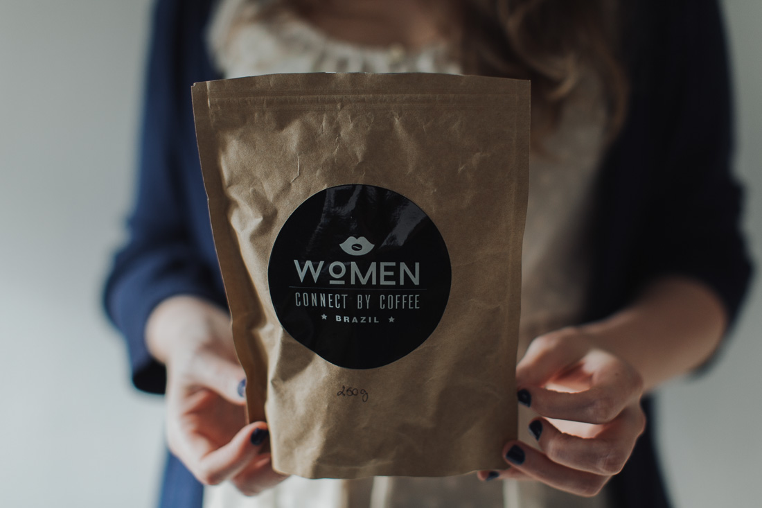 Women connect by coffee
